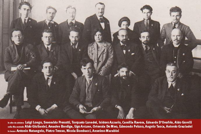 Delegati italiani al IV Congresso dell'Internazionale comunista