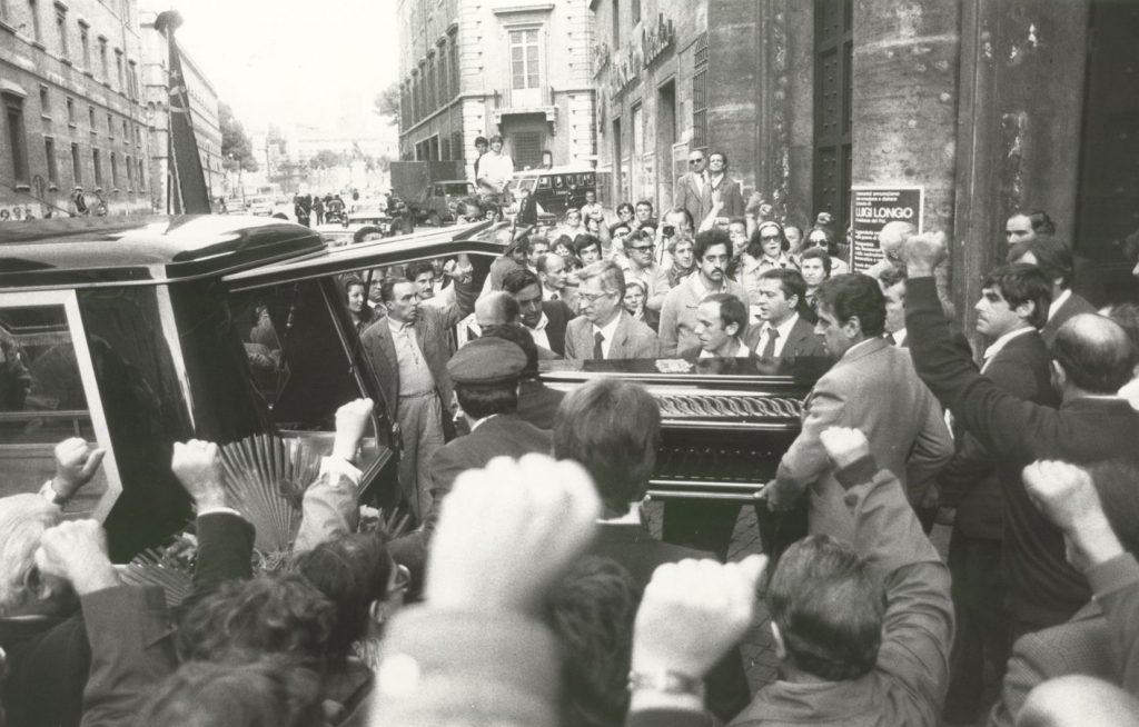 I funerali di Luigi Longo