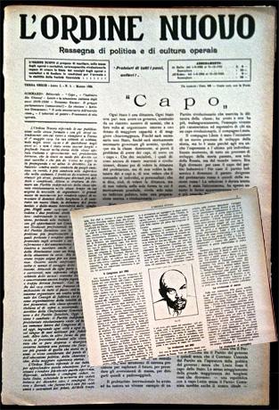 """""""L'Ordine nuovo"""" commemora la morte di Lenin"""