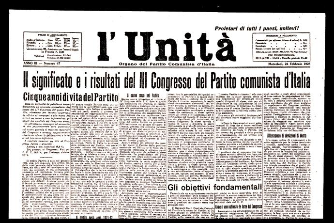 Il III Congresso del PCd'I in clandestinità a Lione