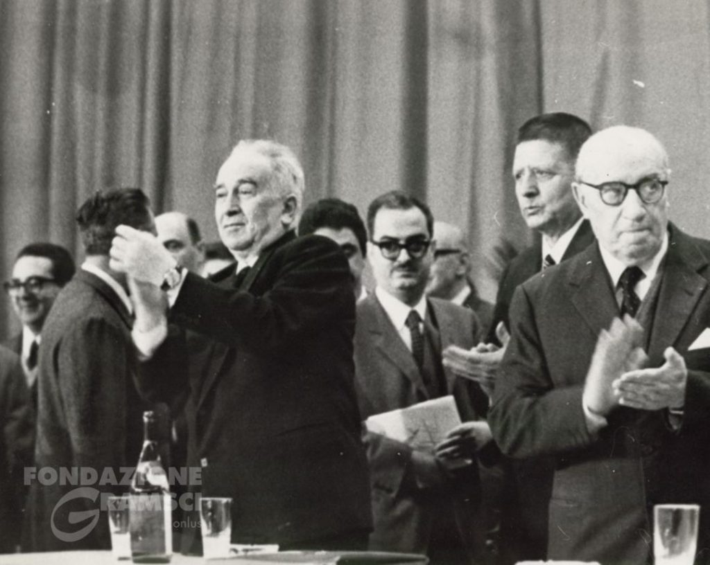 Al XII Congresso nazionale del Pci