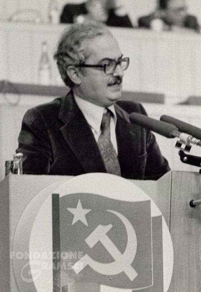 Emanuele Macaluso interviene al XV Congresso nazionale del Pci