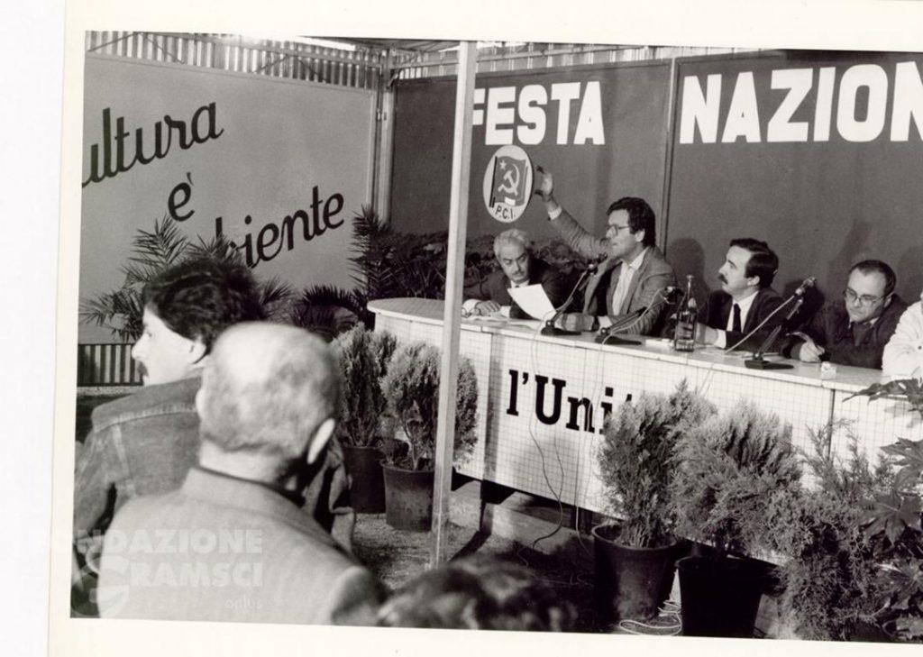 Festa nazionale dell'Unità, settore Ambiente. Una conferenza