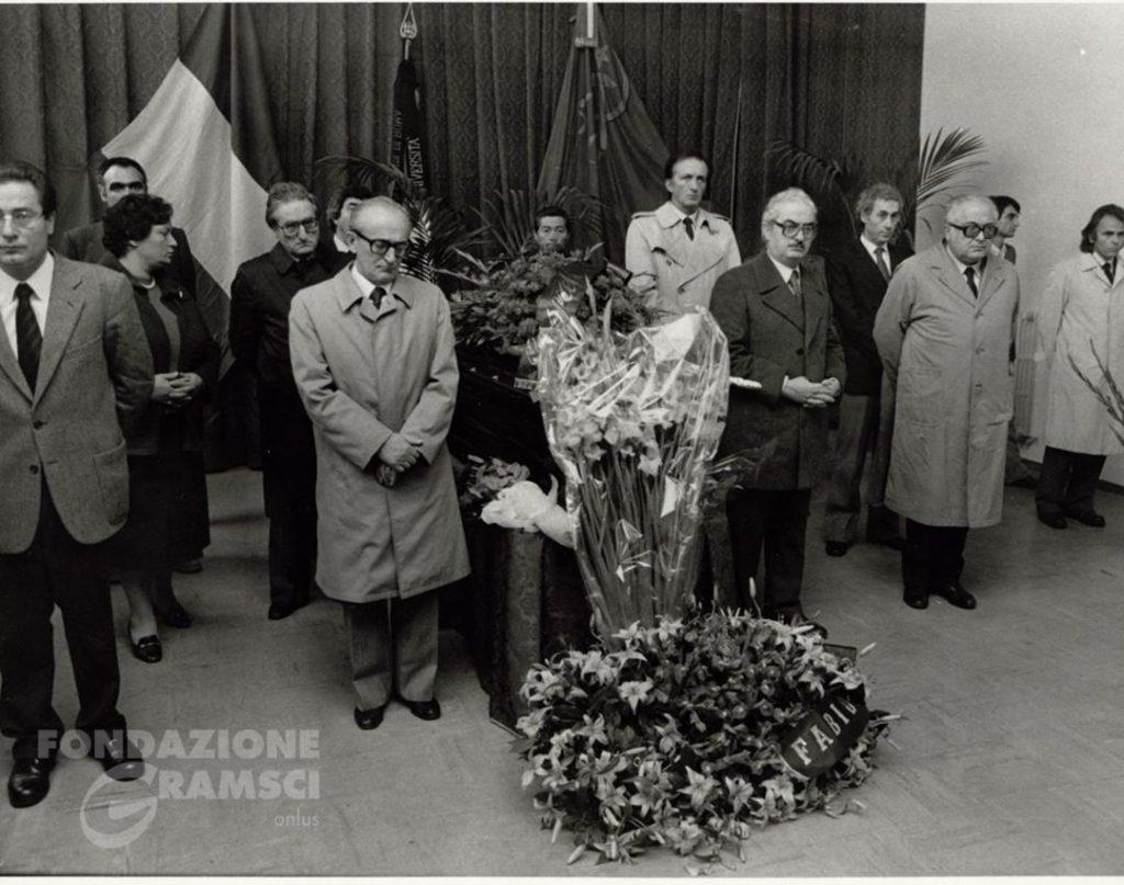 I funerali di Lucio Lombardo Radice