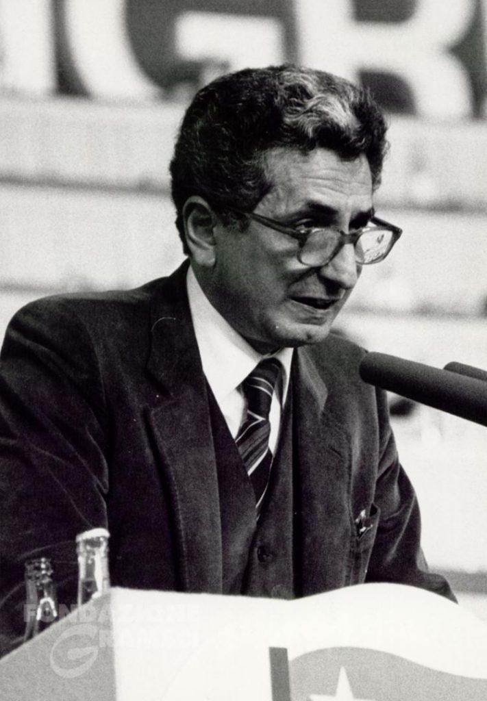 Diego Novelli interviene al XV Congresso nazionale del Pci