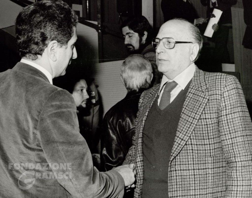XV Congresso del Pci Roma, Maurizio Valenzi e Diego Novelli