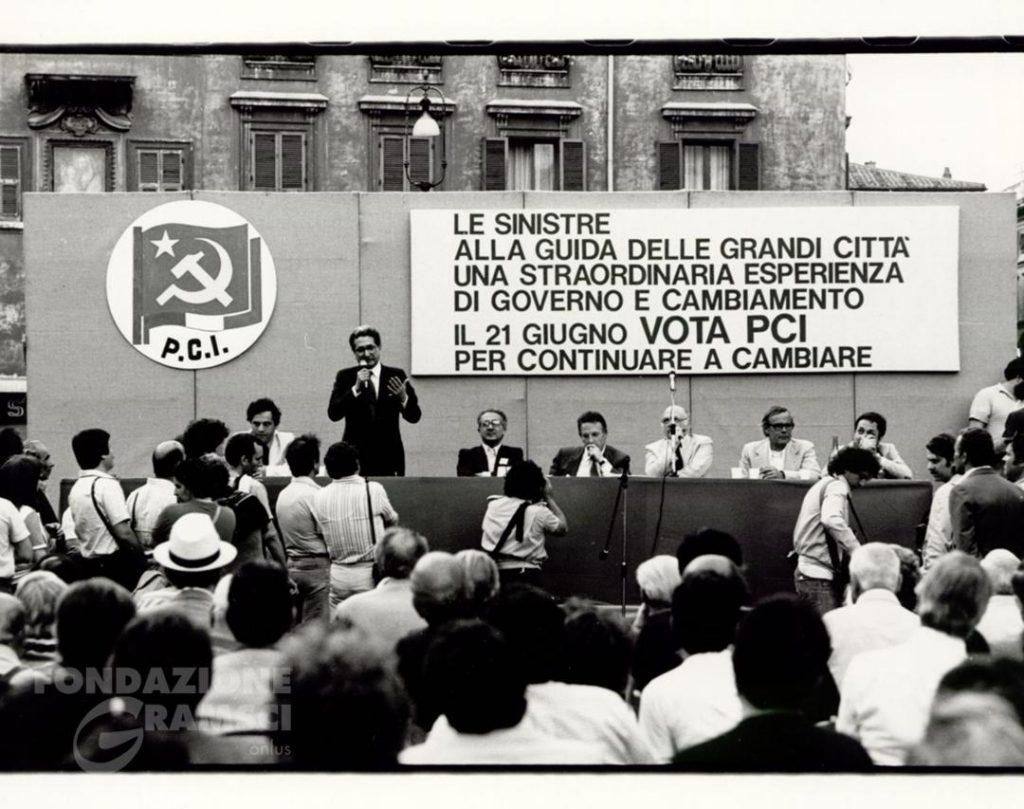 Discorso elettorale di Diego Novelli