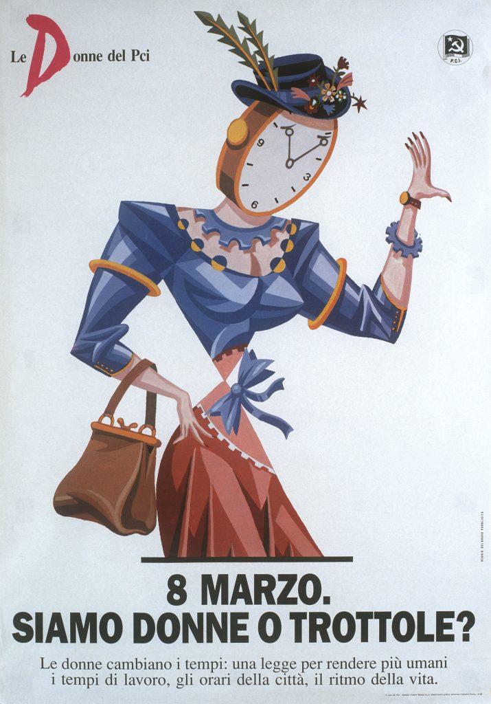 8 marzo. Siamo donne o trottole?