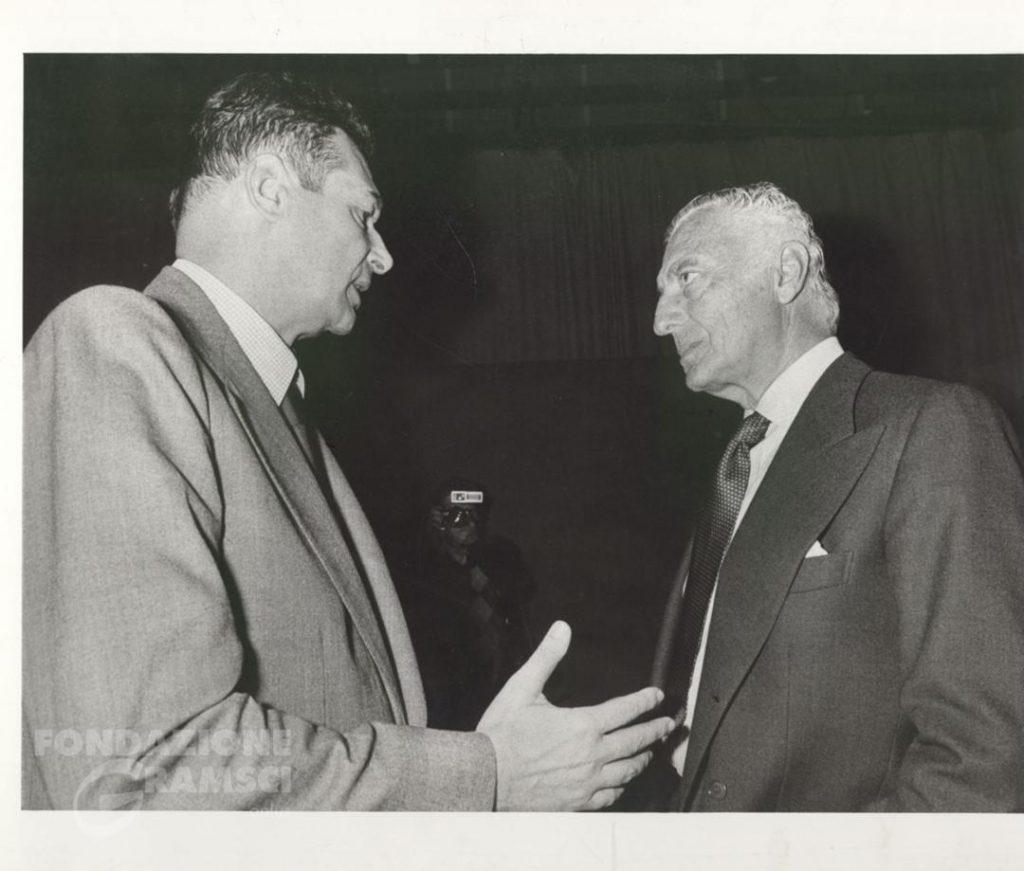 Luciano Lama e Giovanni Agnelli