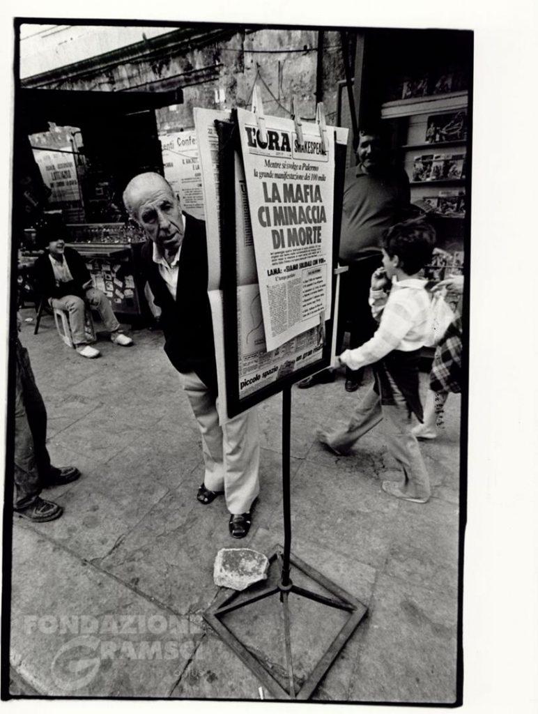 Manifestazione di Palermo contro la mafia