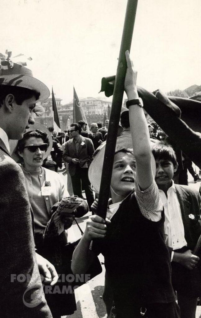 Il Primo maggio 1963 a Roma